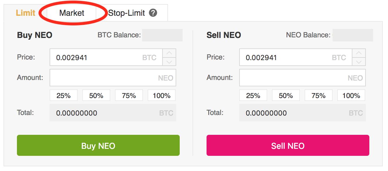 Neo-click-market