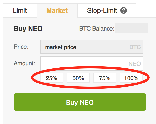 Neo-percentages