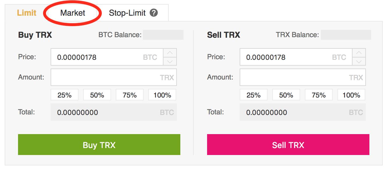 TRON-click-Market