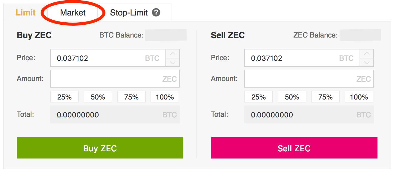 ZEC-Click-Market