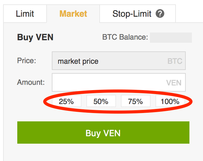 VeChain-Percentages