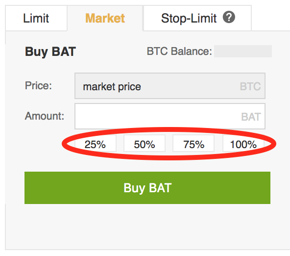 BAT-Percentages